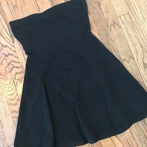 NWT Express Strapless Cutout Cocktail Skater Dress